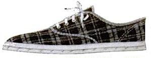 Mr. Sneekers flannel sneakers