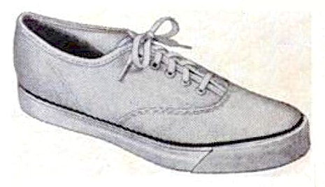 SPERRY TOP-SIDER NYLON OXFORD