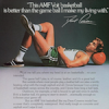 """AMF Voit basketball """"This AMF Voit basketball is better than the game ball I make my living with."""""""