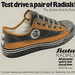 "Bata RADIALS ""Test drive a pair of Radials!"""