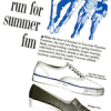 "Converse footwear ""come on the run for summer fun"""