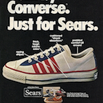 "Sears The Winner ""Built by CONVERSE.Just for SEARS."""