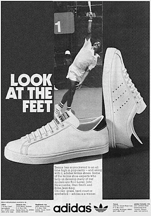"""adidas tennis shoes """"LOOK AT THE FEET"""