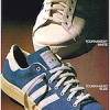 "adidas Tournament White / Blue ""TREAT YOUR FEET!"""