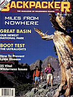 Backpacker October 1989