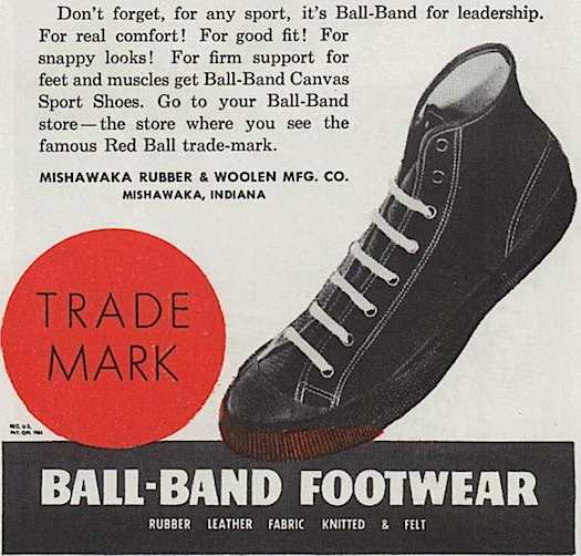 Ball-Band Canvas Sport Shoes