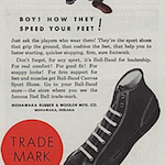 """Ball-Band Canvas Sport Shoes """"for THE BEST IN THE LAND SAY BALL-BAND"""""""