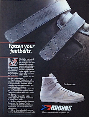 "14e30250dea Brooks Transition ""Fasten your feetbelts."""