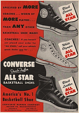 5273d2429a3973 CONVERSE  Chuck Taylor ALL STAR BASKETBALL SHOES