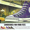"Converse All Star ""LIMOUSINES FOR YOUR FEET."""