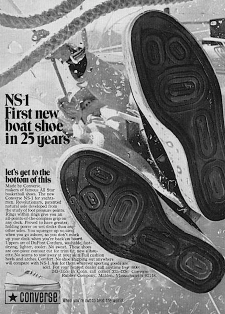 Converse NS-1 boat shoes