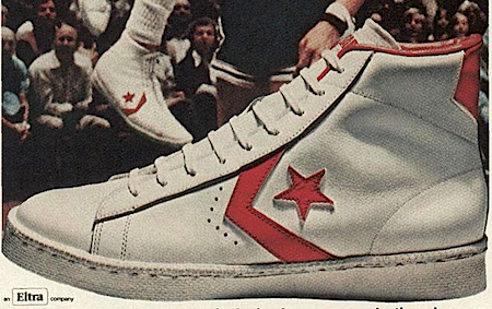 """cbae62be567a Converse Pro Leather """"Dr.J s magic moves are made in Converse Shoes ..."""