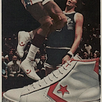 "Converse Pro Leather ""Dr.J's magic moves are made in Converse Shoes."""