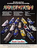 "Foot Locker ""We take your feet as seriously as you take your running."""