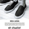 "Mr. Sneekers ""SEA LEGS"""