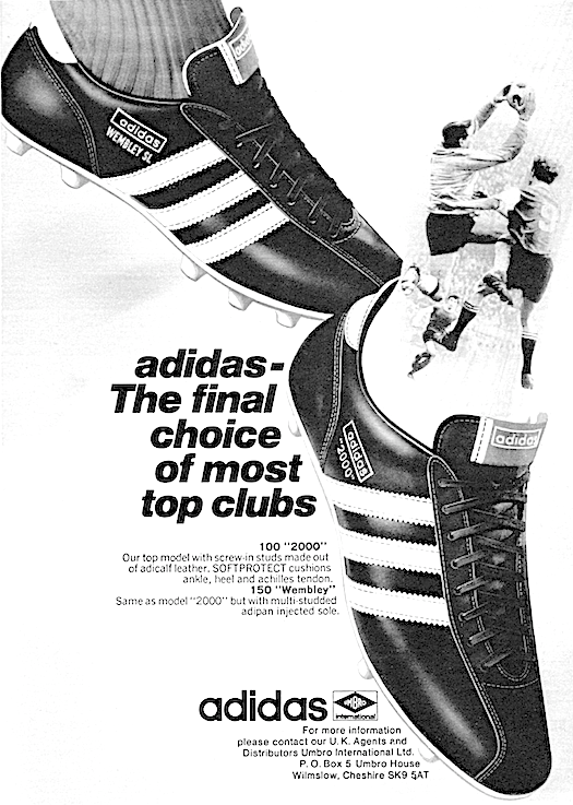 adidas 2000 / Wembley SL football boots