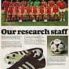 "adidas Rosario soccer boot 78 / Tango ""Our research staff"""