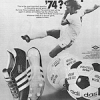 "adidas World-Cup 74 football boots ""Who will be World Soccer Champion '74?"""