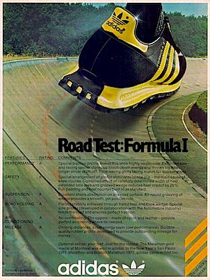 adidas Formula 1 running shoes