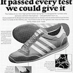 "adidas Galaxy ""Introducing the adidas Galaxy. It passed every test we could give it."""