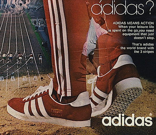 "adidas Gazelle ""are you ready for adidas?"""