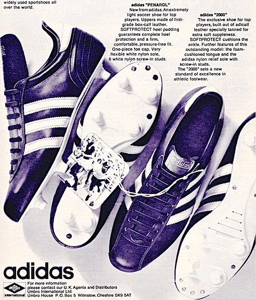adidas Penarol / 2000 football boots
