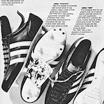 "adidas Penarol / 2000 football boots ""What do goal-getters like most?"""