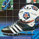 "adidas the NASL Super football boots""Stars and Stripes"""