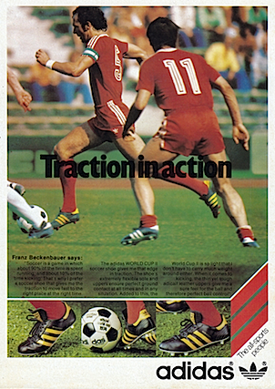 adidas world cup ii soccer shoes �traction in action