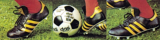 adidas World Cup II soccer shoes
