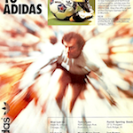 "adidas World-Cup 74 football boots ""STEP UP TO ADIDAS"""