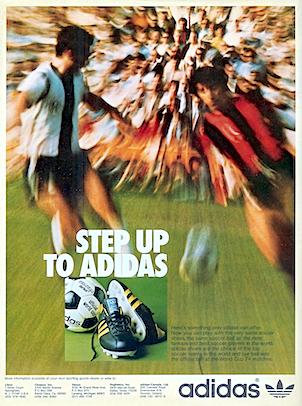 adidas World-Cup 74 football boots / Telstar Durlast football