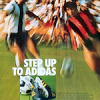 "adidas World-Cup 74 football boots / Telstar Durlast football ""STEP UP TO ADIDAS"""