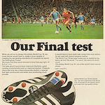 "adidas World Cup 78 ""Our Final test"""