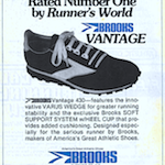 "Brooks Vantage 430 ""Rated Number One by Runner's World"""