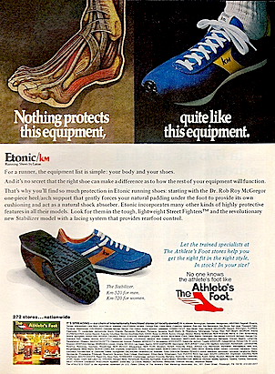Etonic Stabilizer Running Shoes Nothing Protects This