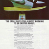 "Nike Eagle road racing shoes ""THE EAGLE GIVES YOU ALMOST NOTHING TO BE EXCITED ABOUT."""