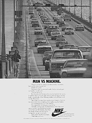 "Nike ""MAN VS MACHINE."""