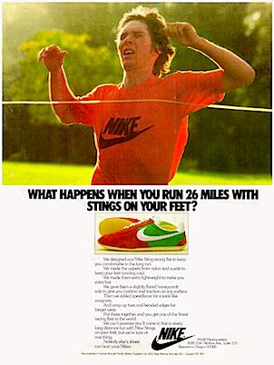 Nike Sting running shoes