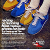 "Nike Waffle Trainer / LDV-1000 / Roadrunner The Athlete's Foot ""racing or running Nike makes shoes for both Try them on at The Athlete's Foot stores"""