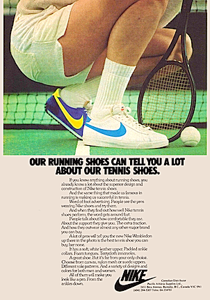 Nike Wimbledon tennis shoes