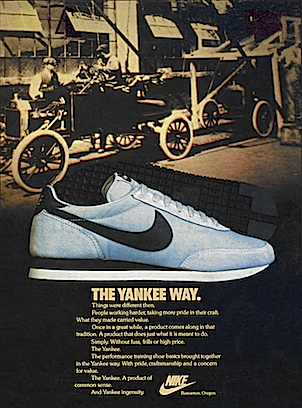 Nike Yankee Training Shoes The Yankee Way Old Sneaker