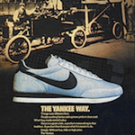 "Nike Yankee training shoes ""THE YANKEE WAY."""