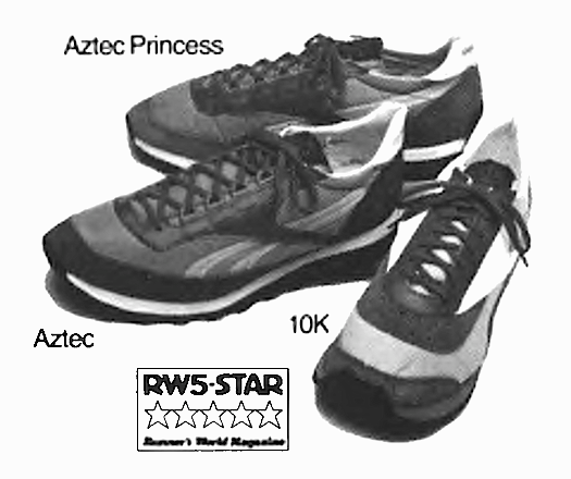 """ae9704a75e14cd Reebok Aztec   Aztec Princess running shoes """"The sole difference ..."""