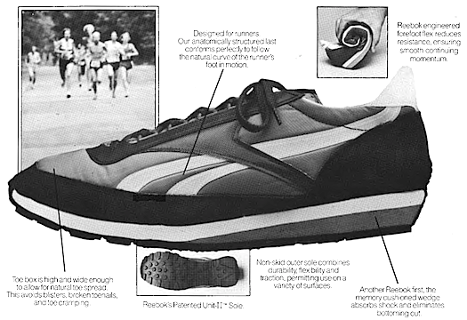 Reebok Aztec running shoes