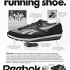 "Reebok Aztec running shoes ""The 26 pound running shoe."""