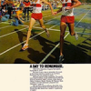 """Nike Eagle / Elite SMU road racing shoes """"A DAY TO REMEMBER."""""""