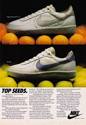 Nike Supreme Court / Amelia tennis shoes