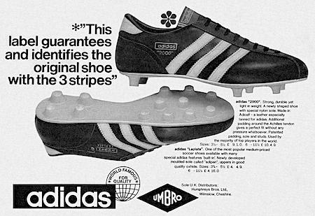 adidas 2000 / La plata Soccer Boots