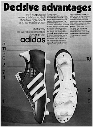 adidas 2000 Soccer Boots